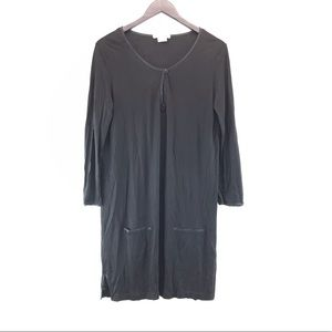Lacoste Long Sleeve Shift Dress